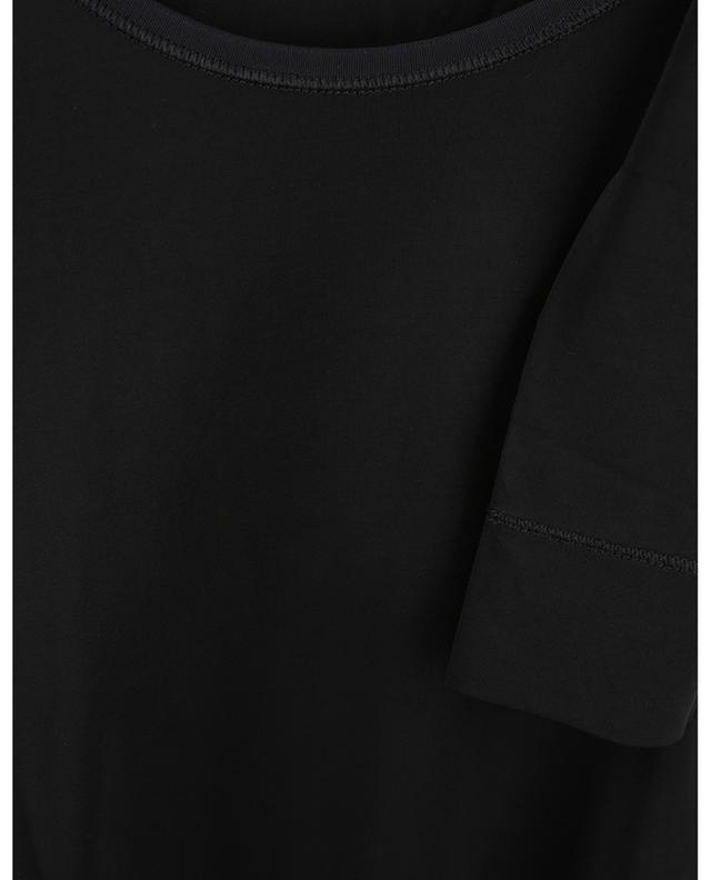Body en jersey de rayonne noir GANNI