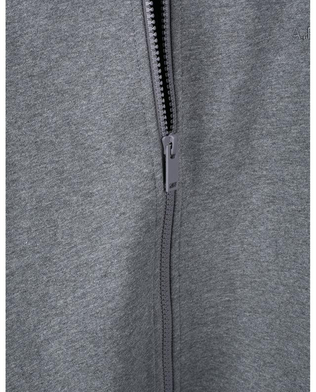 Armand compact cotton sweat jacket A.P.C.