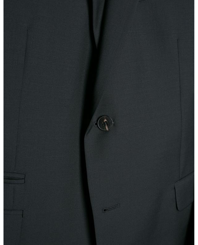 Schmal geschnittener Anzug aus Wolle und Mohair VALENTINO