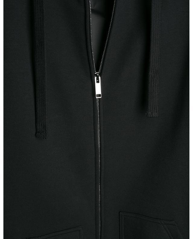 Sweat-shirt zippé rembourré à capuche Macro VLTN VALENTINO