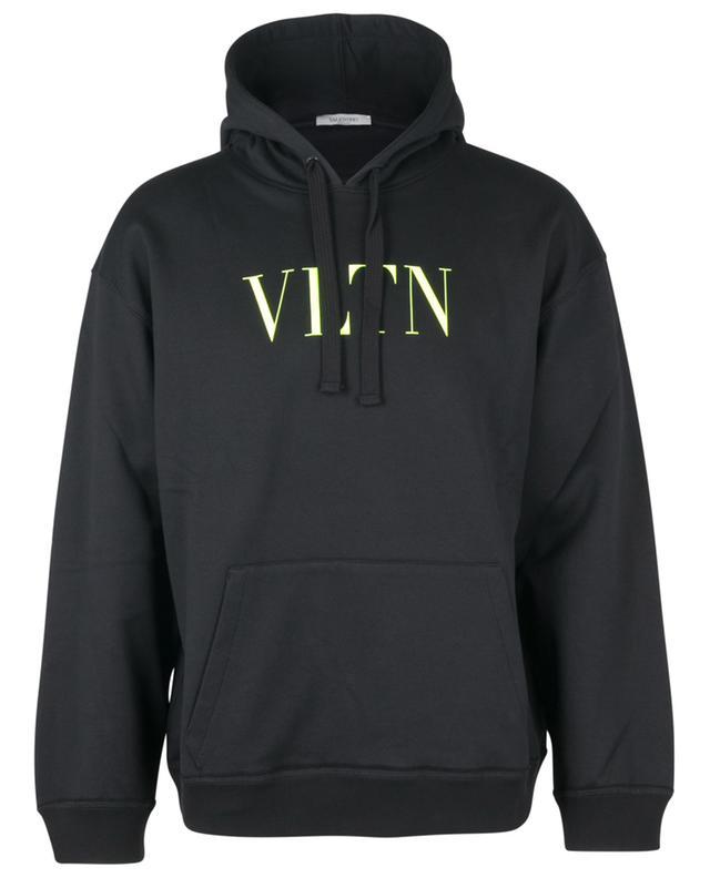 Sweat-shirt à capuche imprimé Neon VLTN VALENTINO