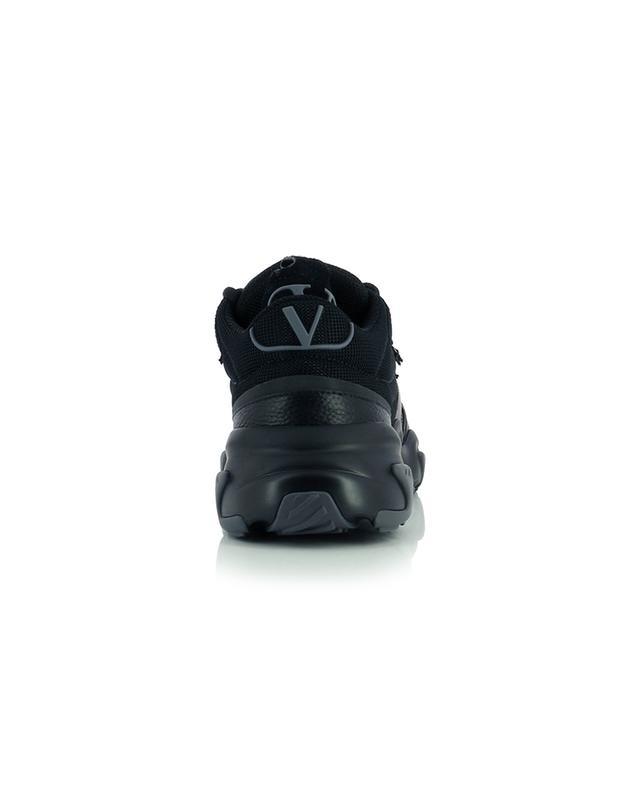 Baskets basses à lacets multi-matière Afterdash VALENTINO