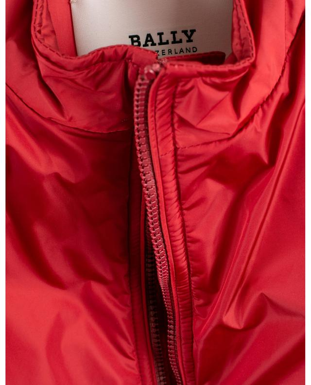 Gilet en nylon zippé Bally Panelling Thindown BALLY
