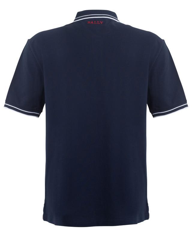Polo en coton piqué avec logo brodé BALLY