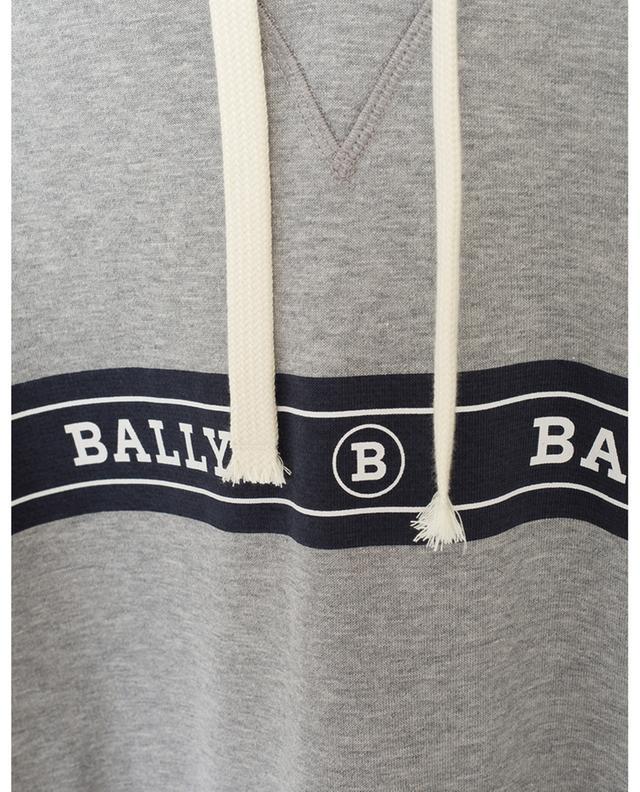 Sweat-shirt à capuche en coton mélangé BALLY