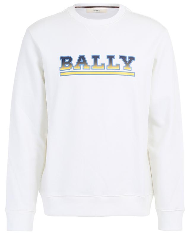 Sweat-shirt en coton mélangé imprimé logo BALLY