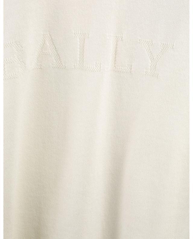 Pull fin en coton détail logo Bally Stripe BALLY