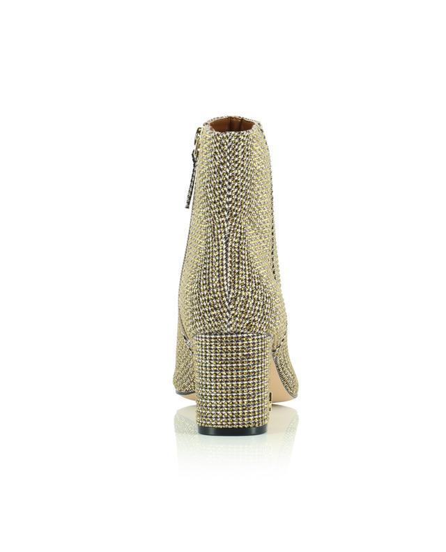 Bottines à talon en tissu pied-de-poule à cristaux Burlington KURT GEIGER LONDON