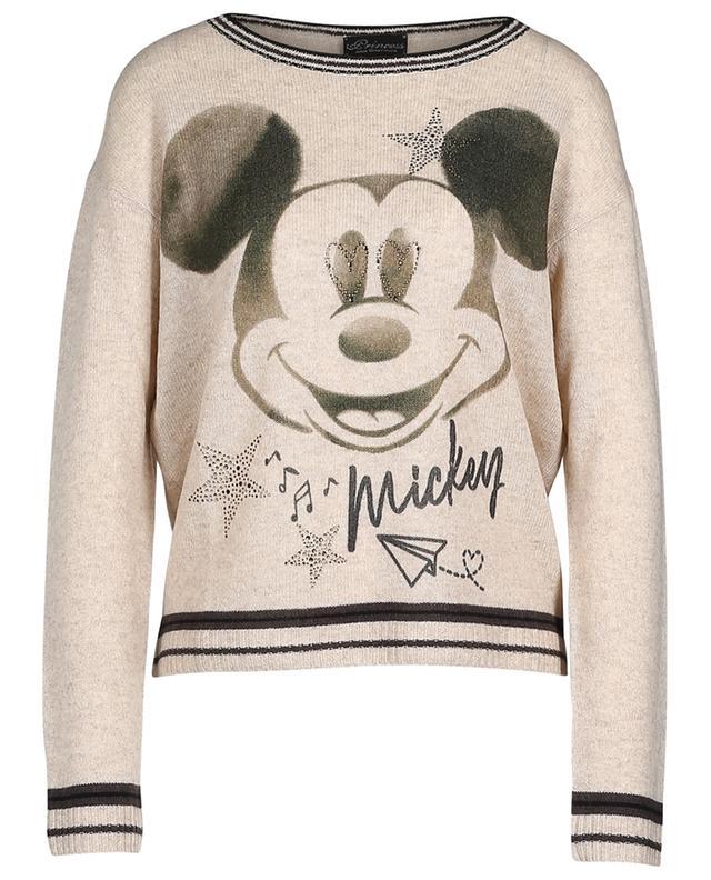 Pull Mickey en laine et cachemire mélangés PRINCESS