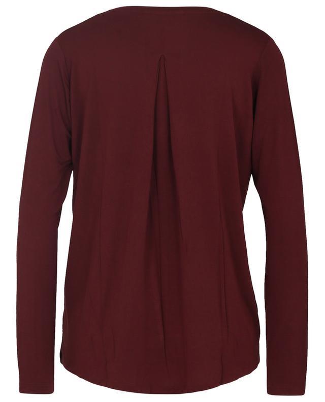 Extrafine Superwashed long-sleeved crewneck T-shirt MAJESTIC FILATURES
