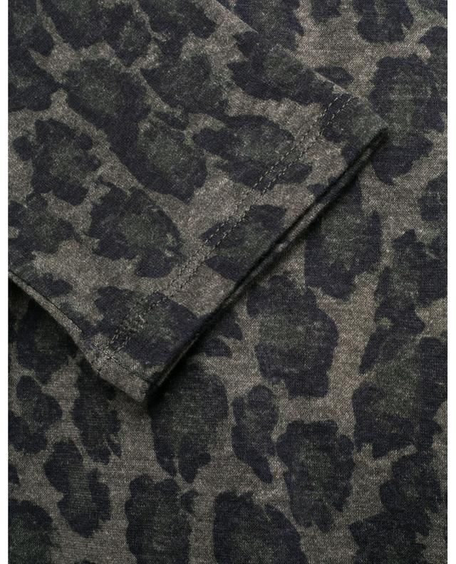 Long-sleeve leopard spot T-shirt MAJESTIC FILATURES