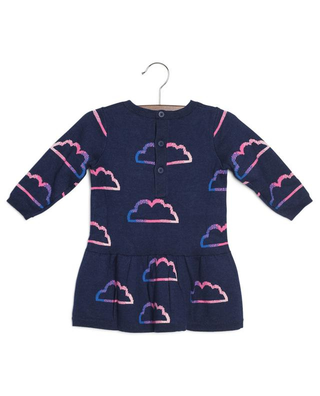 Jacquard-Kleid mit Wolkenmotiv und Tiger Ventura KENZO