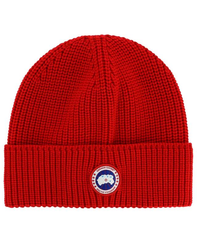 Arctic Disc ribbed wool beanie CANADA GOOSE