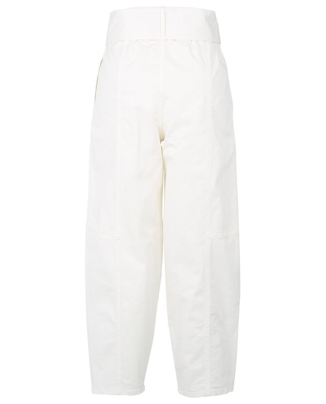 Belted chino carrot trousers SEE BY CHLOE