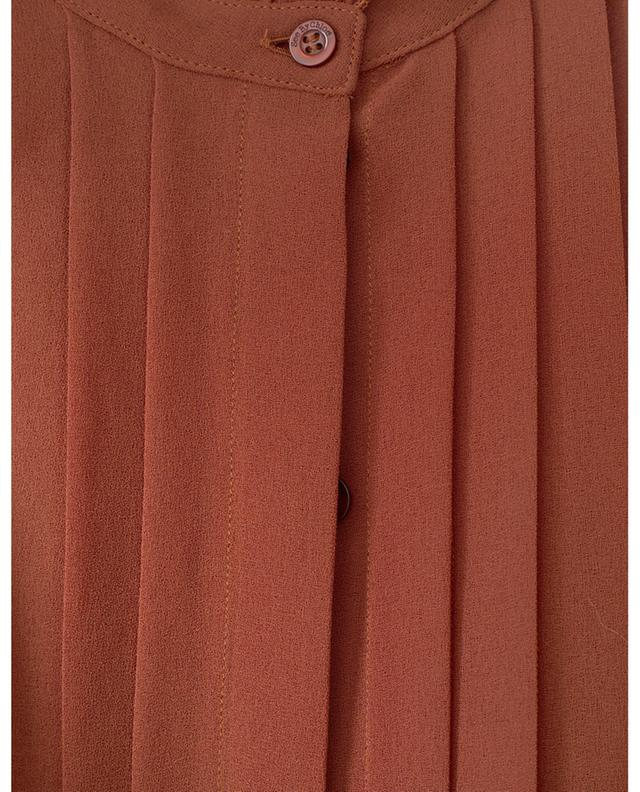 Ruffled crepe blouse SEE BY CHLOE