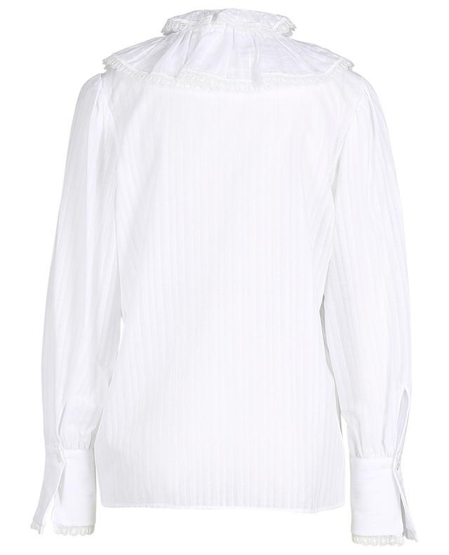 Bluse aus Baumwolle mit Rüschen SEE BY CHLOE