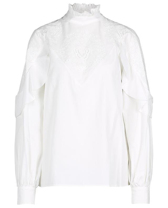 Viktorianische Bluse aus Baumwolle mit Stickereien SEE BY CHLOE