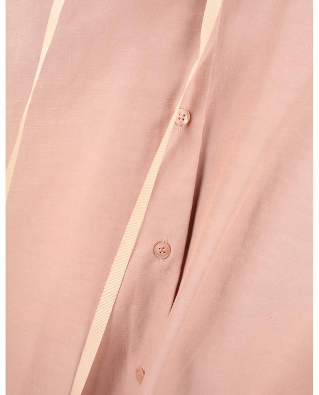 Chemise à col montant plissé et manches bouffantes SEE BY CHLOE