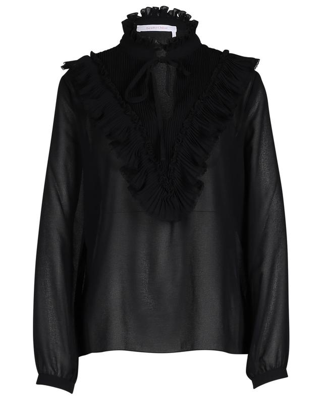 Semi-sheer georgette shirt SEE BY CHLOE