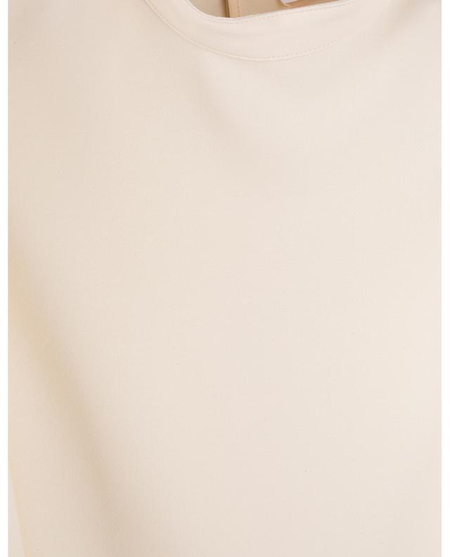 Top en crêpe à manches trois-quarts ornées de dentelle SEE BY CHLOE