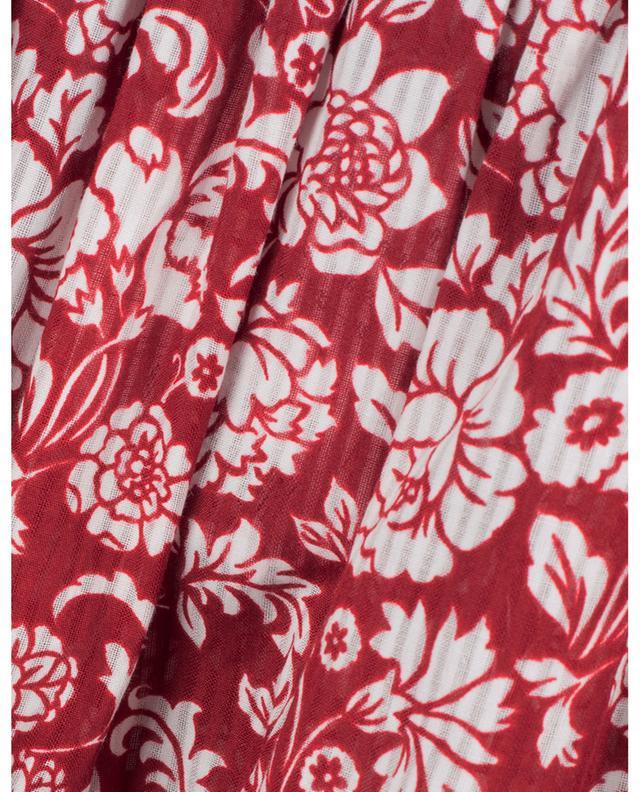 Blouse en coton fleuri ornée de volants Graphic Peonies SEE BY CHLOE