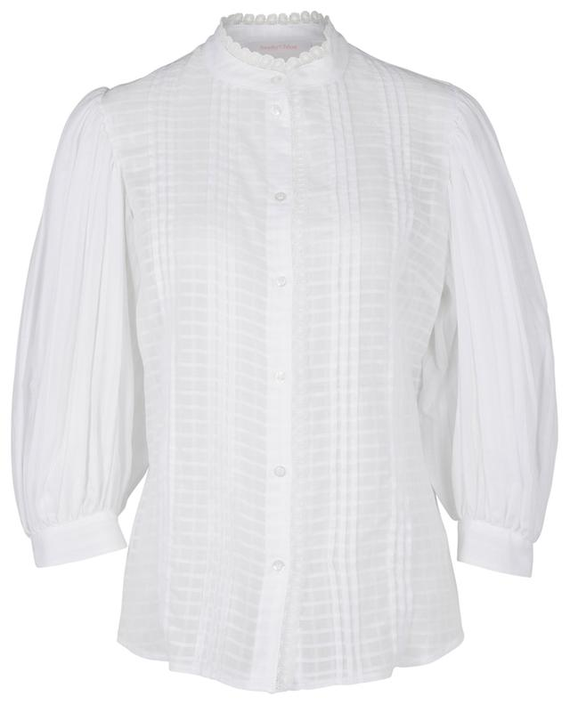 Cotton blouse with lace SEE BY CHLOE
