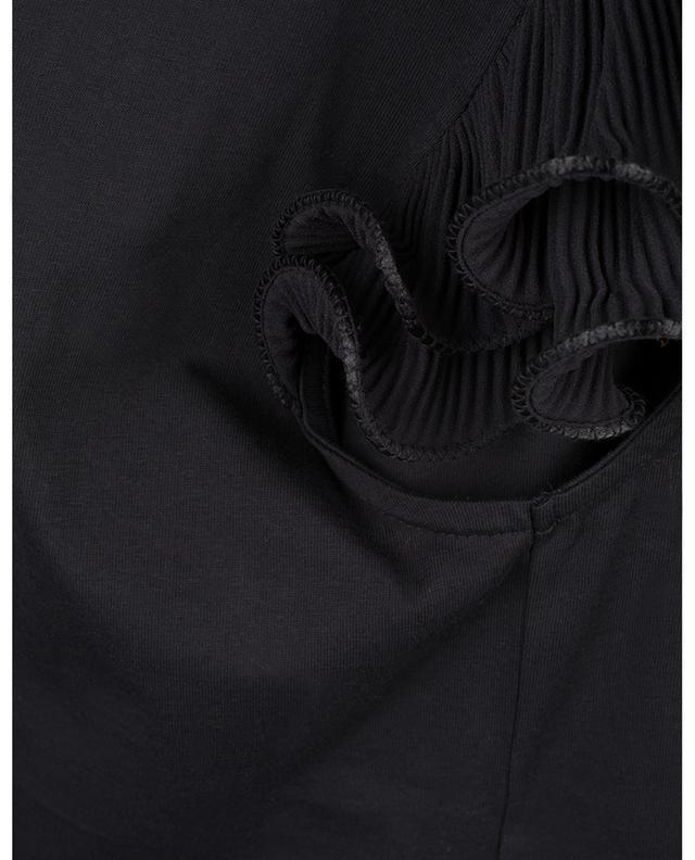 T-shirt en jersey à manches volants plissés SEE BY CHLOE