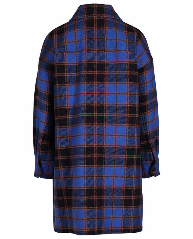 Manteau esprit chemise à carreaux oversize SEE BY CHLOE