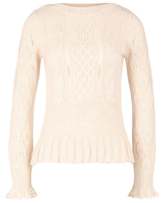 Cable-knit alpaca blend jumper SEE BY CHLOE