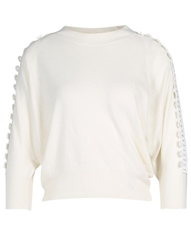 Three-quarter sleeve jumper with braid SEE BY CHLOE