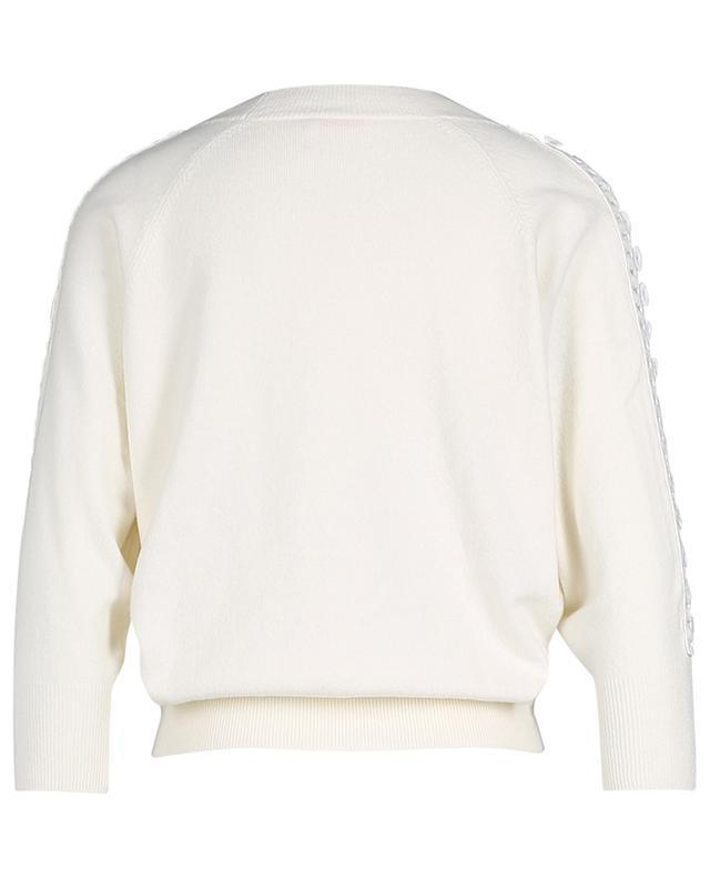Pullover mit Dreiviertelärmeln und Borte SEE BY CHLOE