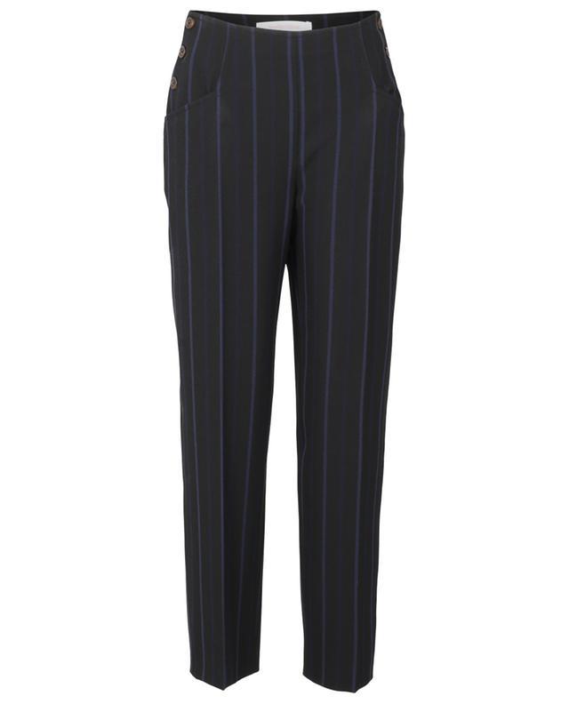 Pantalon raccourci rayé SEE BY CHLOE