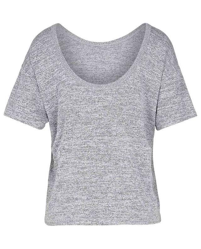 T-shirt dos nu en jersey chiné The Knit Open Back Tee RAG&BONE JEANS