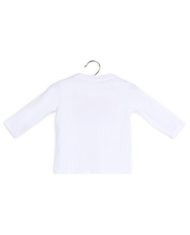 T-shirt en cotton avec imprimé tigre et arc-en-ciel KENZO