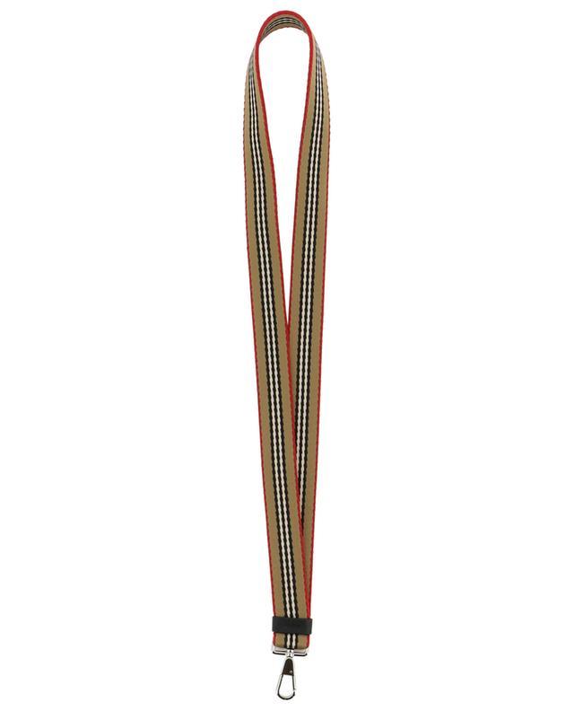Schlüsselanhänger Icon Stripes BURBERRY