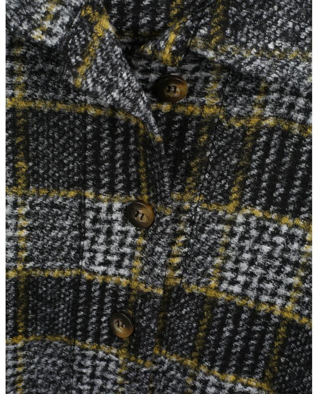 Surchemise à carreaux en laine Joyce TOUPY
