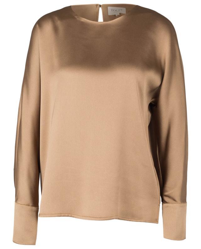 Leon long-sleeve oversize top TOUPY