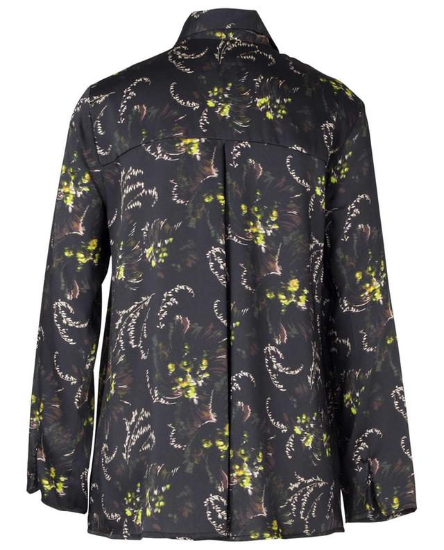 Passion long-sleeve floral print shirt TOUPY