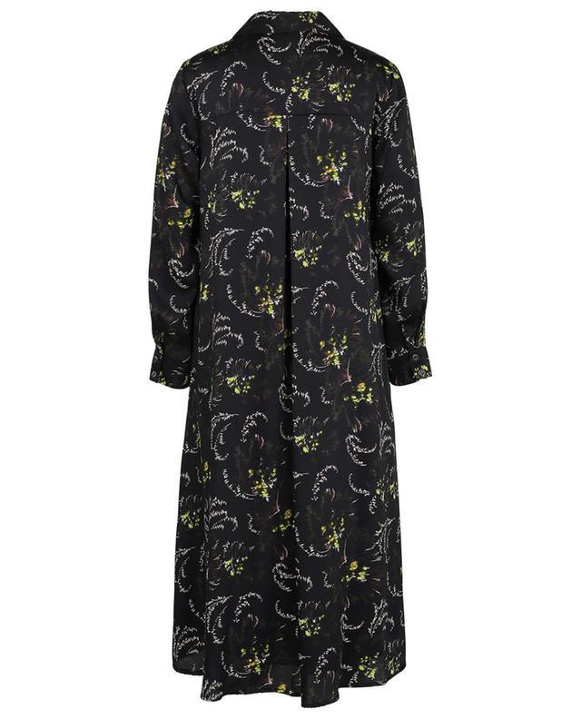 A-förmiges Hemdkleid aus Twill mit Print Pop TOUPY