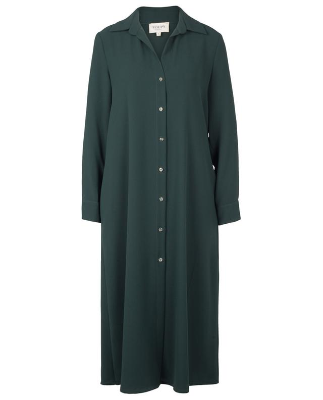 Langärmeliges Hemdkleid Tino TOUPY