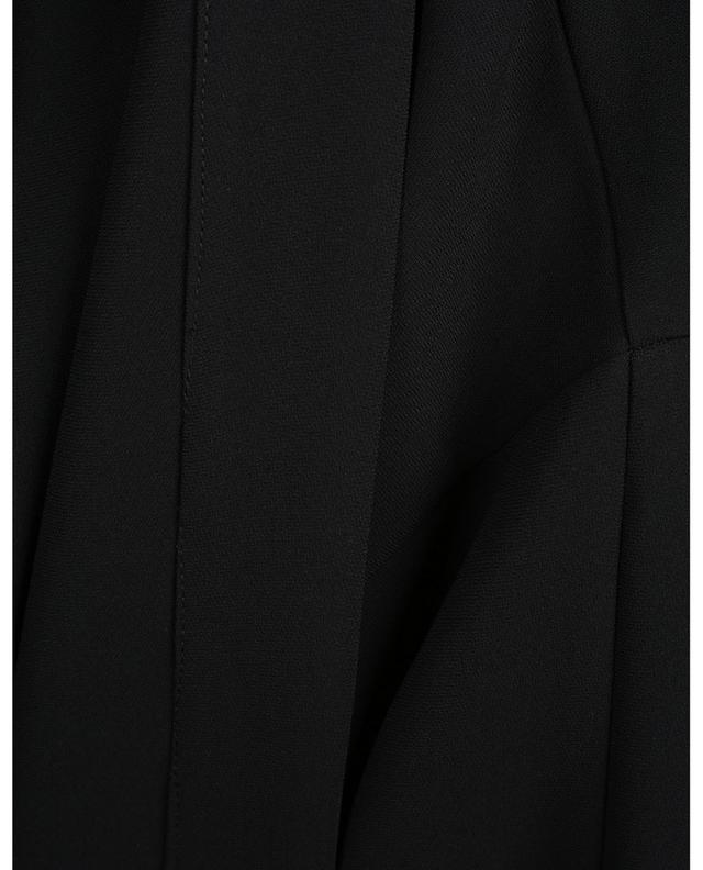 Nofle open crepe coat TOUPY