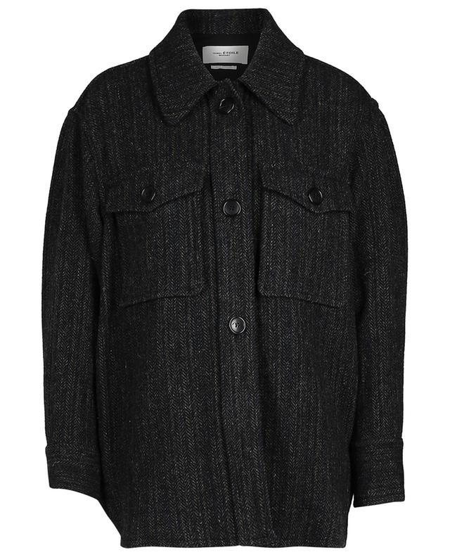 Hemd-Jacke aus Wolle Garvey ISABEL MARANT