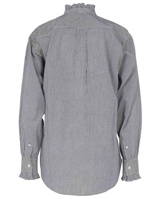 Chemise rayée à col volanté Saoli ISABEL MARANT