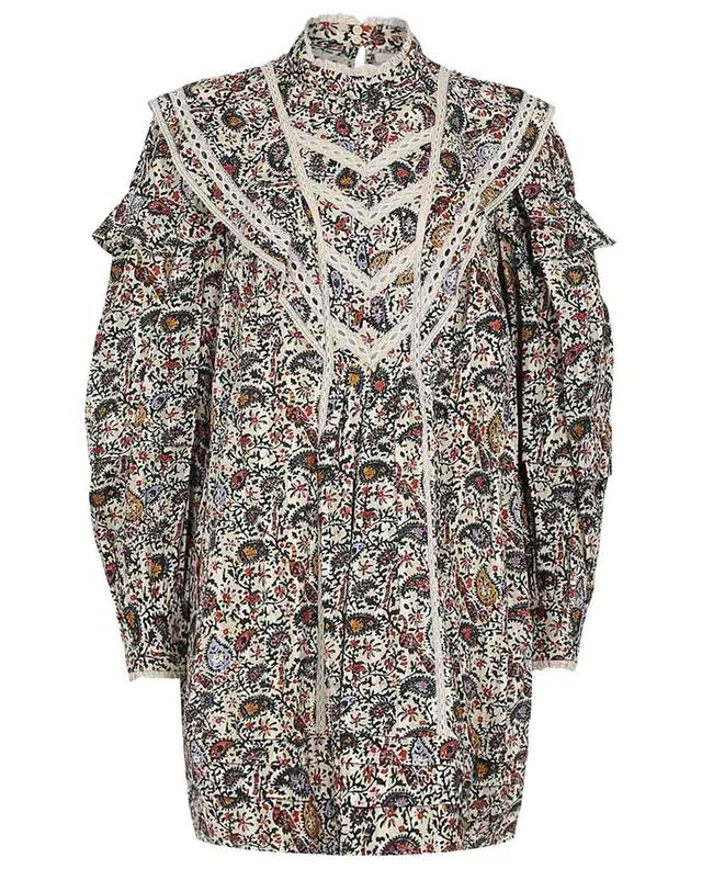 Robe en coton imprimé Rebel ISABEL MARANT