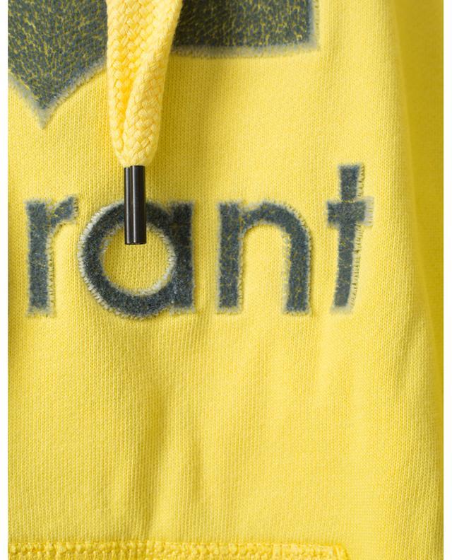 Sweat-shirt oversize à capuche brodé logo Mansel ISABEL MARANT