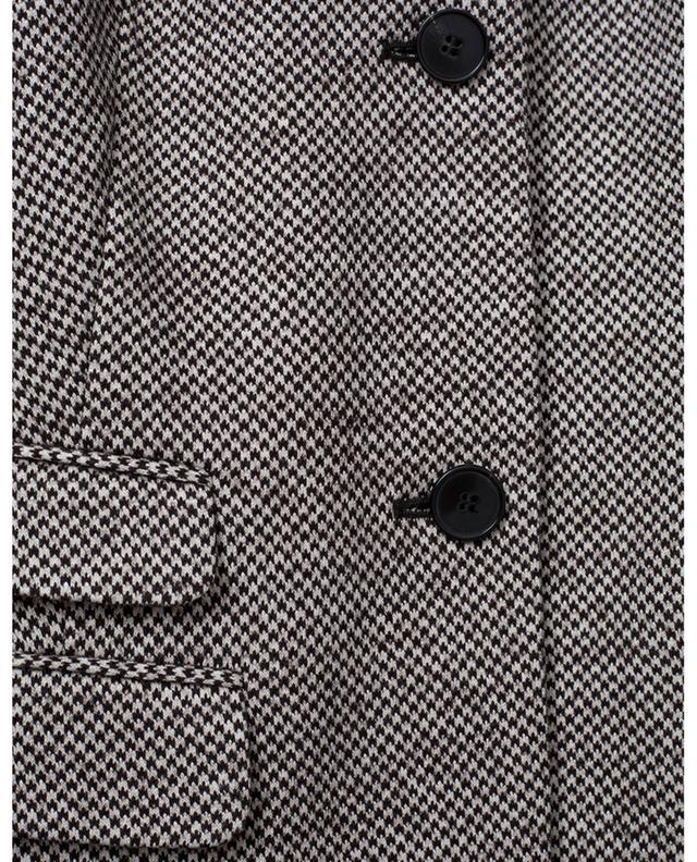 Blazer en coton et laine vierge WINDSOR