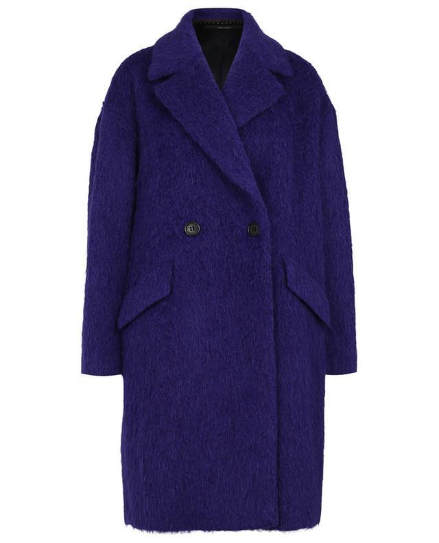 Manteau trois-quarts violet WINDSOR