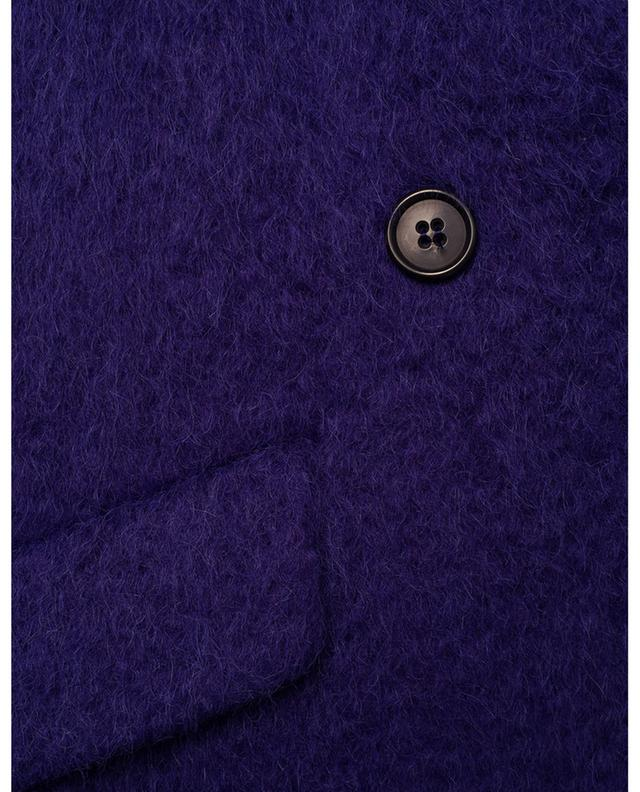 Manteau trois-quarts violet WINDSOR