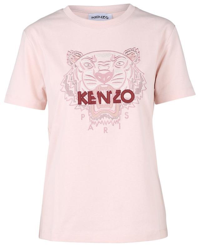 T-shirt en coton avec broderie Classic Tiger KENZO