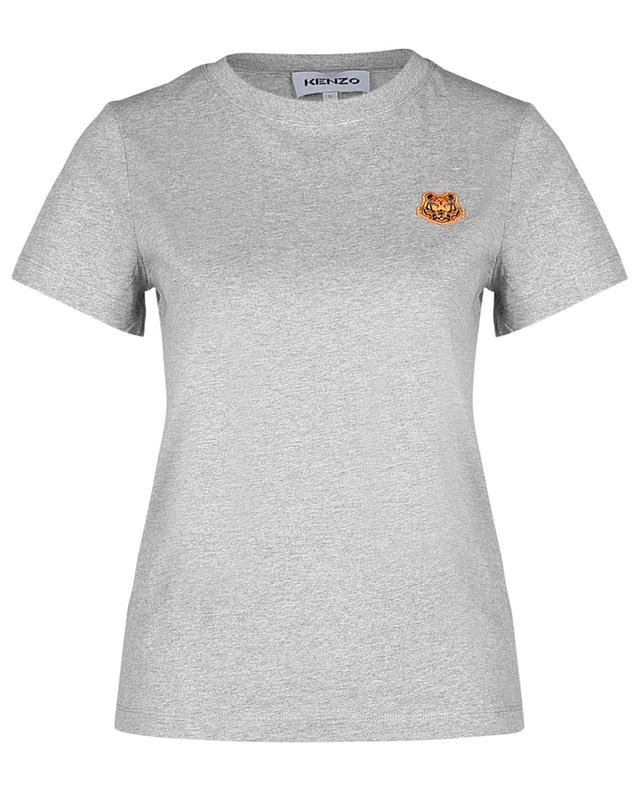 T-shirt ajusté brodé patch Tiger Crest KENZO